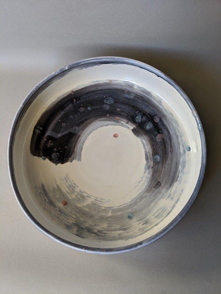 Large ceramics plate pottery plates safe food pottery