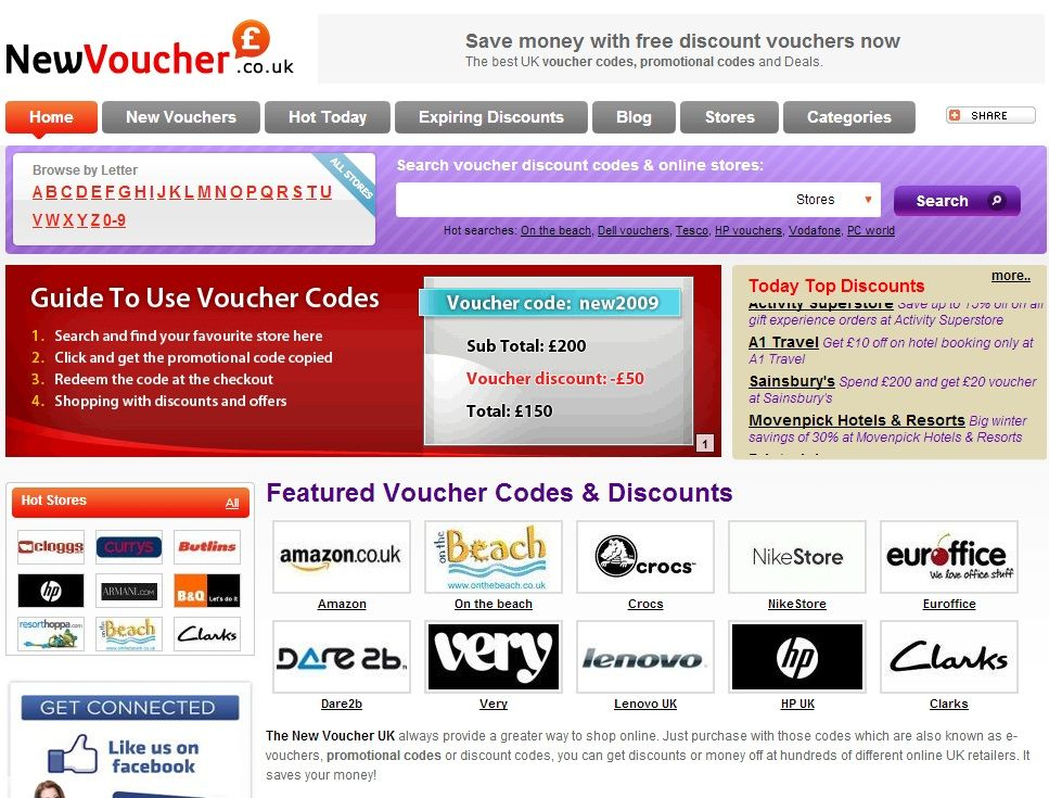 Save Your Money With Discount Codes -   wwwnewvoucheruk