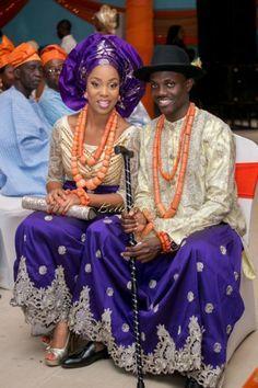itsekiri groom and his bride - Google Search | Traditional