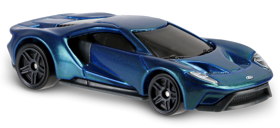 17 Ford Gt Blue Ford Gt Hot Wheels Ford