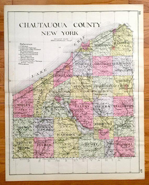 Antique Chautauqua County, New York 1912 New Century Atlas ... on 222 broadway ny map, chautauqua gorge ny, city of troy ny map, chautauqua new york map, dunkirk ny map, charlotte ny map, east rochester ny map, ellery ny map, new berlin ny map, purchase ny map, new city ny map, jamestown ny map, buffalo ny map, cheektowaga ny map, kaser village ny map, fulton street ny map, oswegatchie river ny map, mayville new york map, new york ny map, rockville centre ny map,