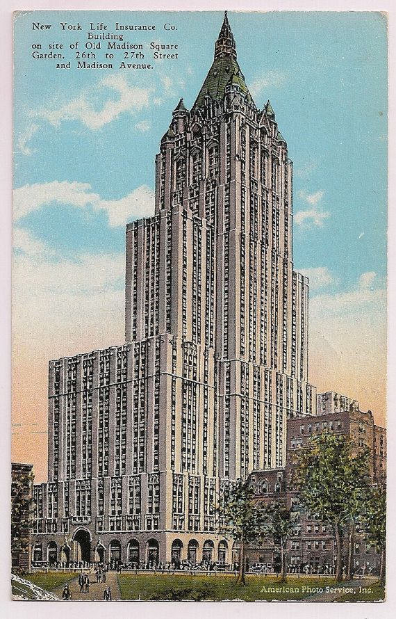 New York Life Insurance Company Building 1920 S Nyc New York