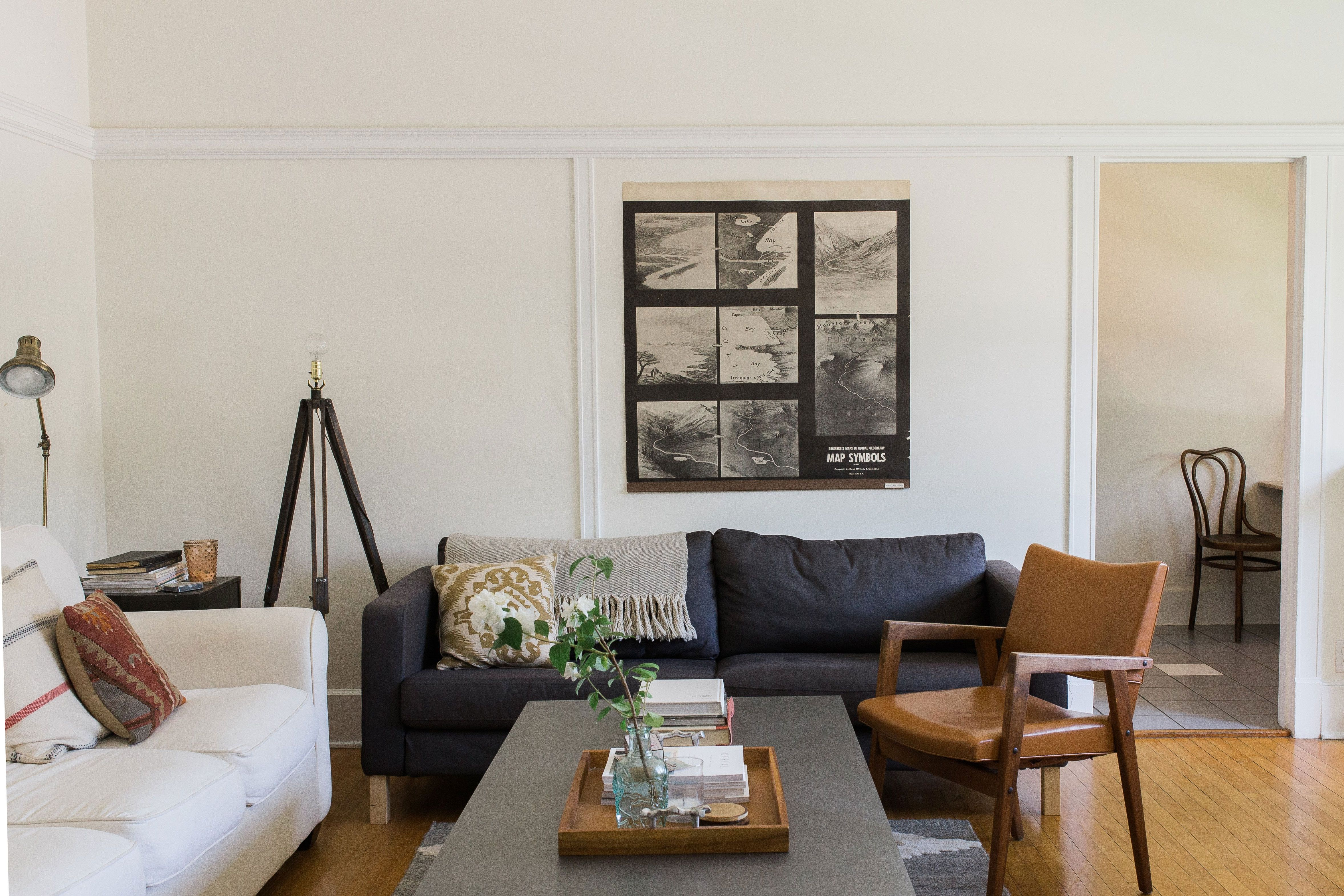 Mark Gillian S Classic Meets Eclectic In Vancouver Living Room Design Inspiration Home Contemporary Lighting Living Room