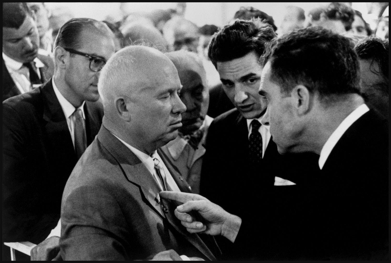 The Kitchen Debate: A series of impromptu exchanges between Nixon ...