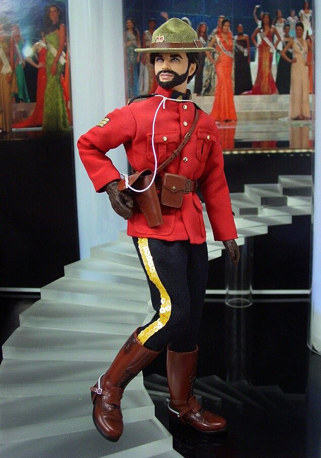 Canadian Mountie Ken