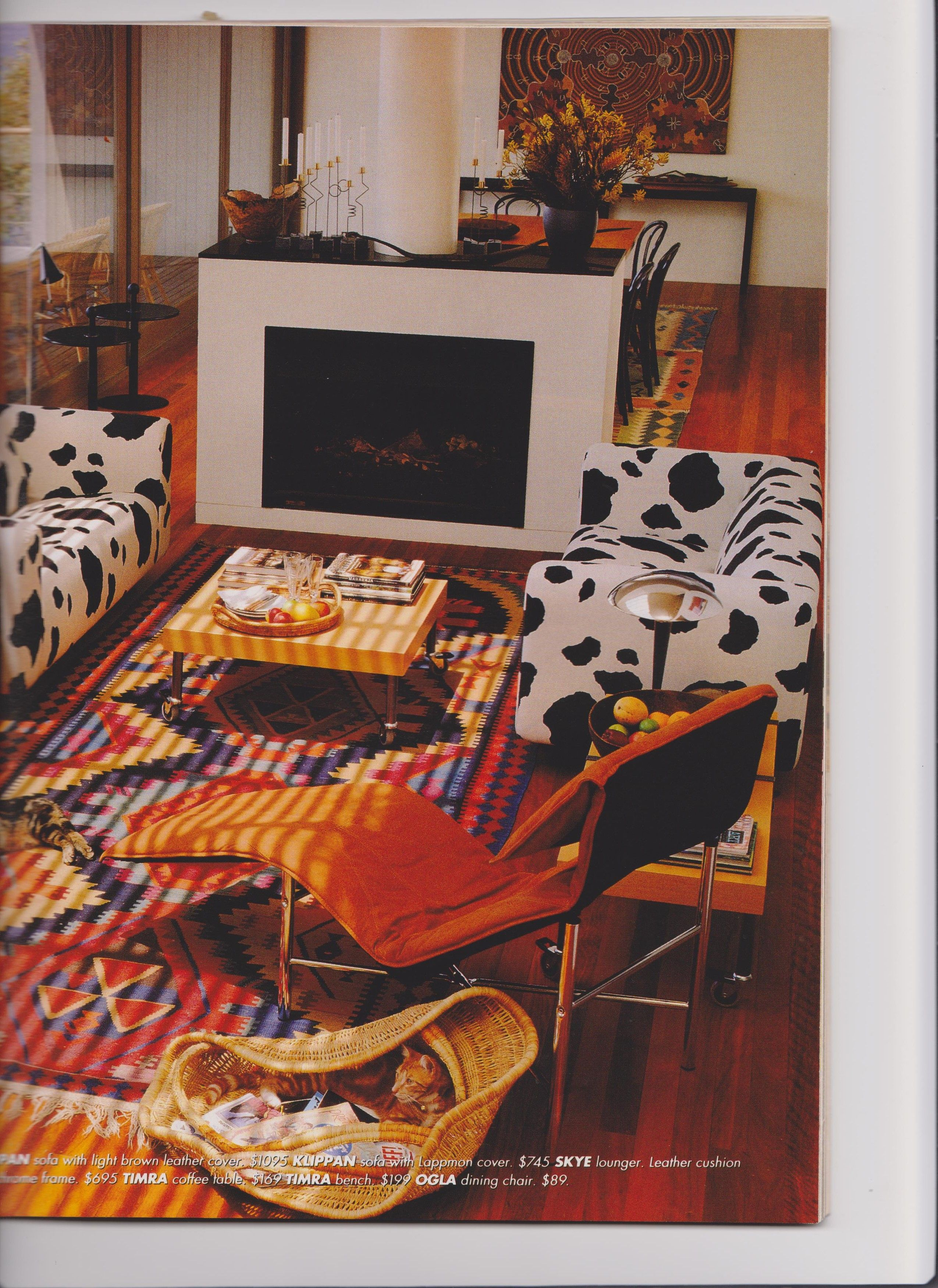 Two IKEA Klippan sofas with Lappman covers Sofas