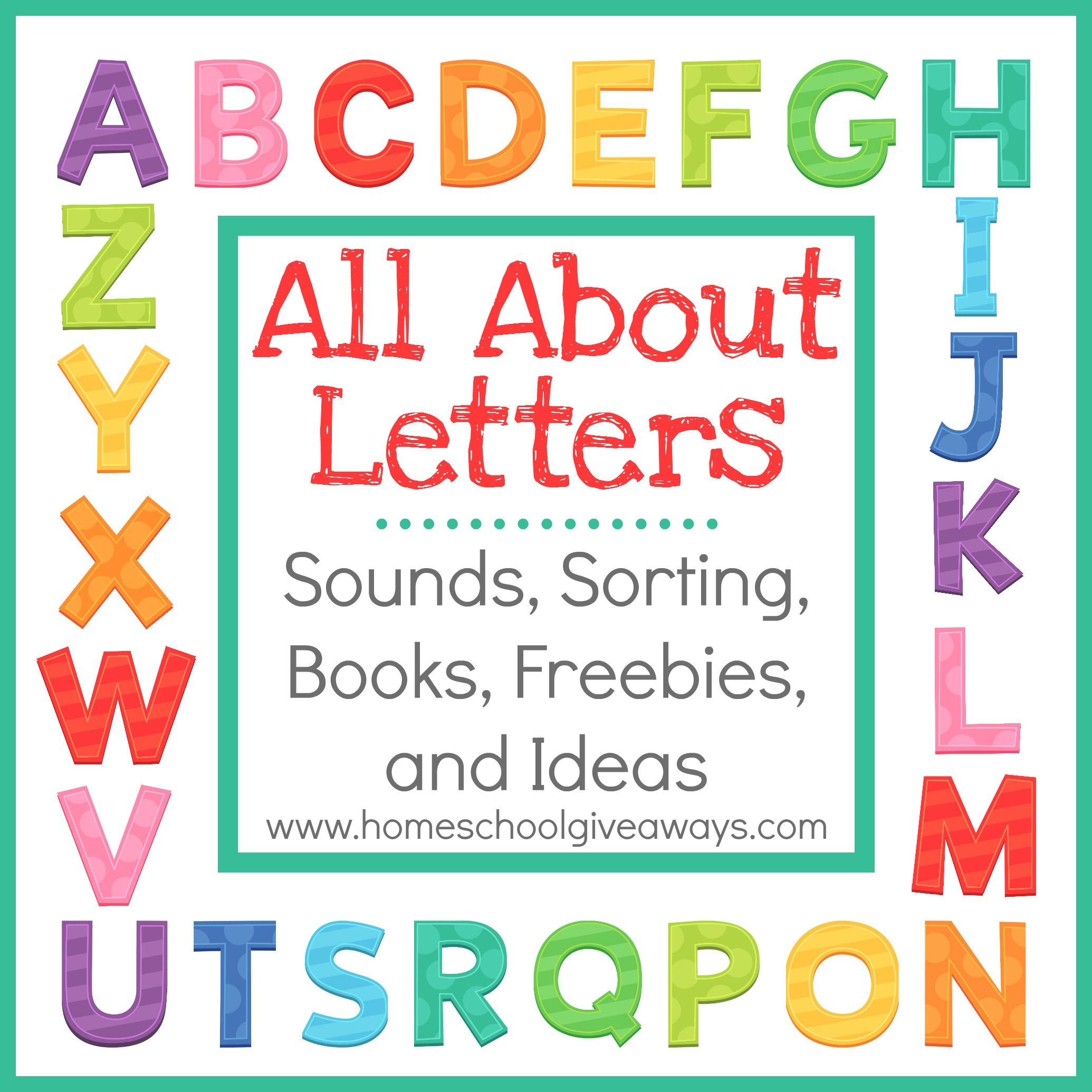 All About Letters Sounds Sorting Books Freebies And
