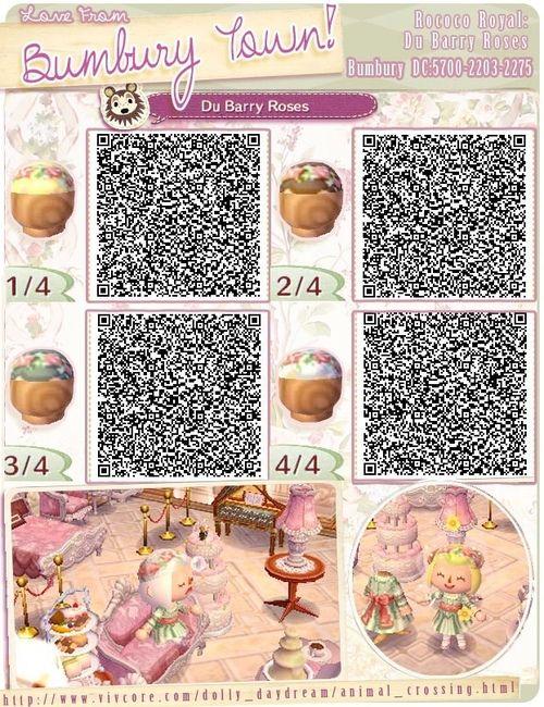 Fashion Qr Acnl Flower Crown Animal Crossing Qr Animal