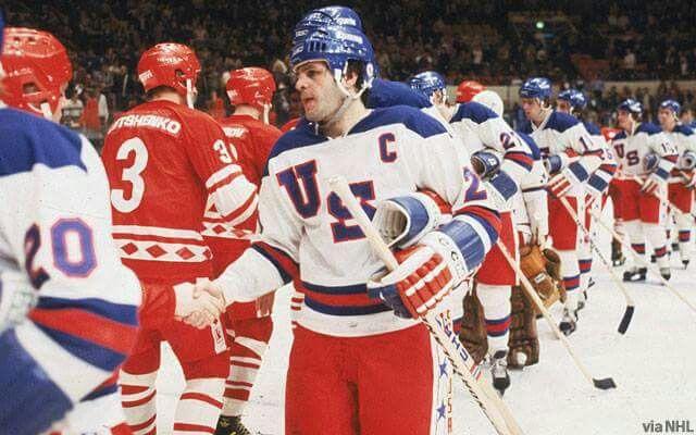 Usa Vs Ussr Olympic Hockey Team Usa Hockey Usa Hockey