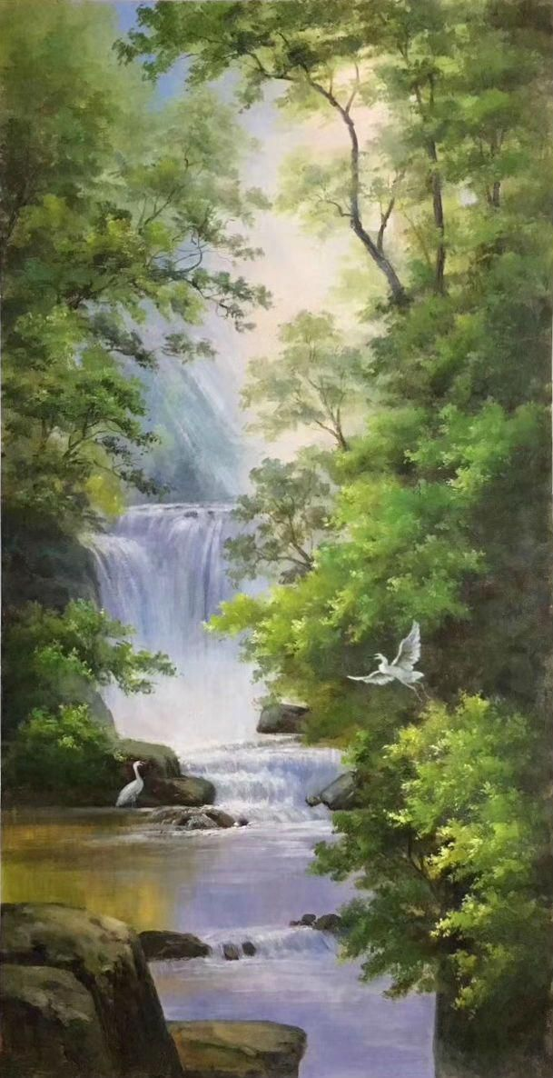 Oil Painting Brushes OilPaintingHair Product ID2265153901 OilPaintingEasy is part of Modern landscape painting -