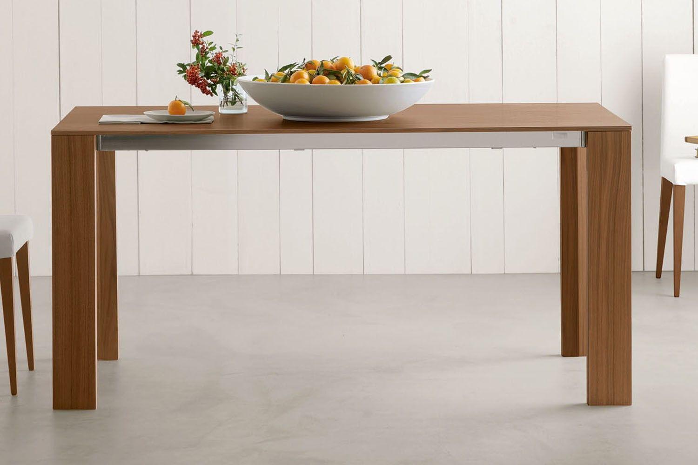 Sedie Edra ~ Tavolo allungabile bianco in legno edra modello in rovere
