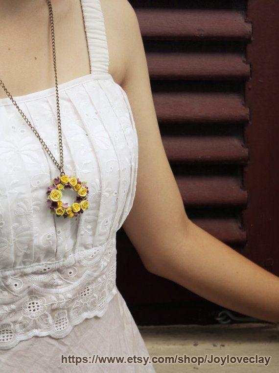 254b7a6c0b rose pendant necklace