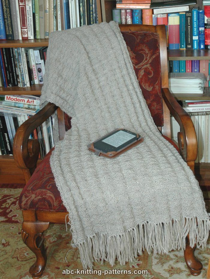 ABC Knitting Patterns - Fluted Prayer Shawl | Knitted blankets ...