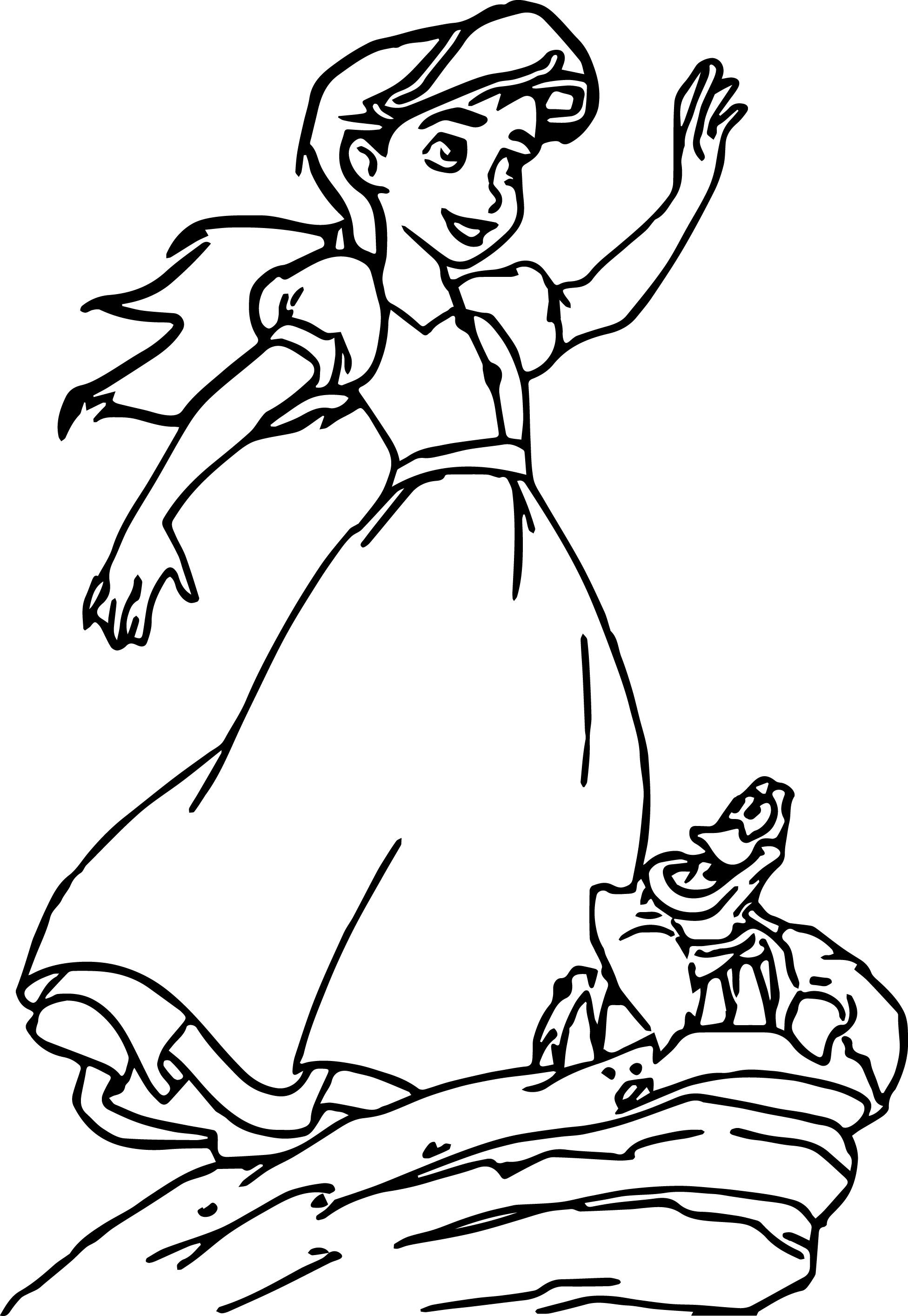 Disney The Little Mermaid 2 Return to the Sea Coloring Page 18 ...