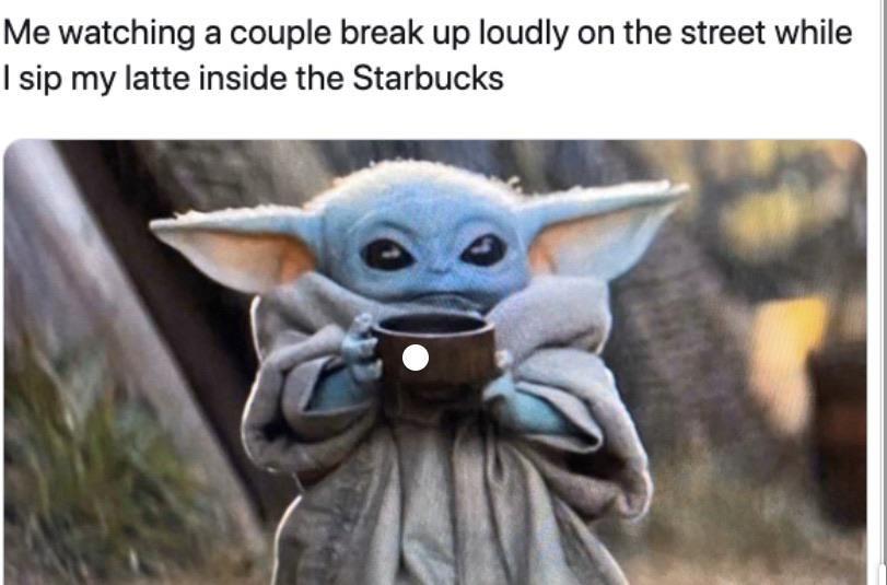Wow Wonder How It Feels To Have A Girlfriend Yoda Babyyoda Starwars Episode9 Themandalorian Mandalorian Disney Yoda Emoji Yoda Meme Disney Plus