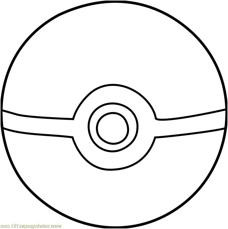 9 Pratique Coloriage Pokeball Image In 2020 Pokemon Coloring