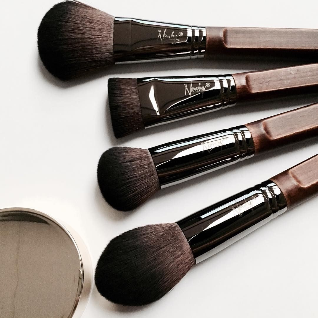 Nanshy Necessities Collection Vegan Makeup Brush Set