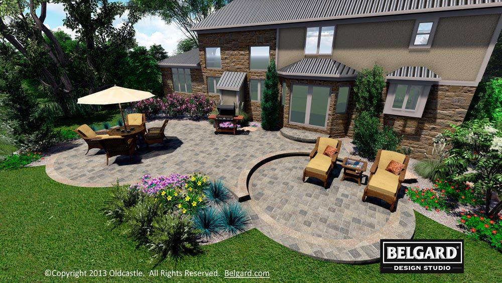 Belgard Design Studio Patio Outdoor Patio Decor Diy Patio Pavers