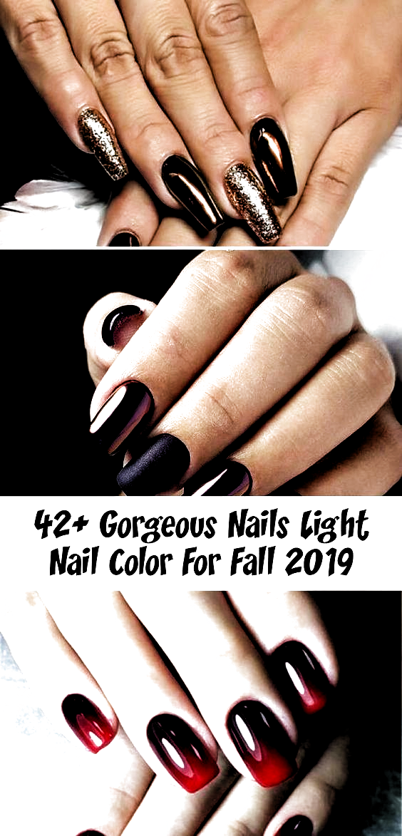 42+ Gorgeous Nails Light Nail Color For Fall 2019 - Style2 T #nailwinterGreen #n... -  42+ Gorgeous Nails Light Nail Color For Fall 2019 – Style2 T #nailwinterGreen #nailwinterShort #n - #acrylicnails #color #Fall #gorgeous #light #Nail #nails #nailsfall2019 #nailsfallautumn #nailwintergreen #style2 #fallcolors