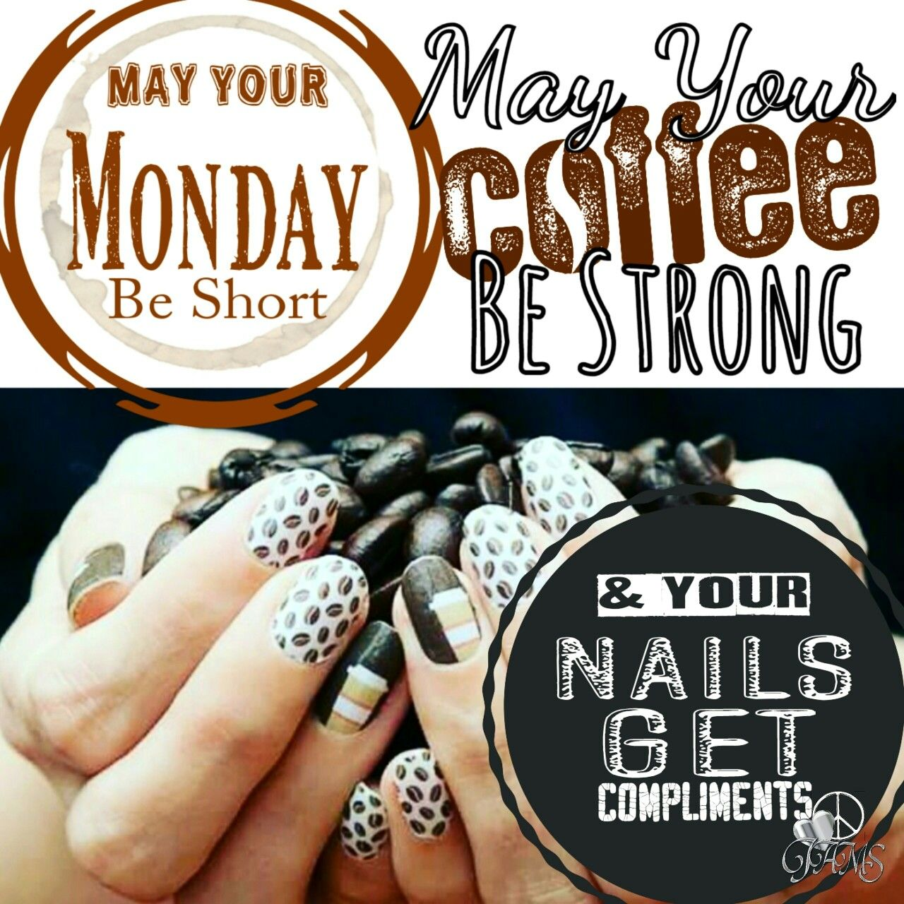 It's Monday again... May Your Monday Be Short, Your Coffee Be ... #mayYourCoffeeBeStrongQuote