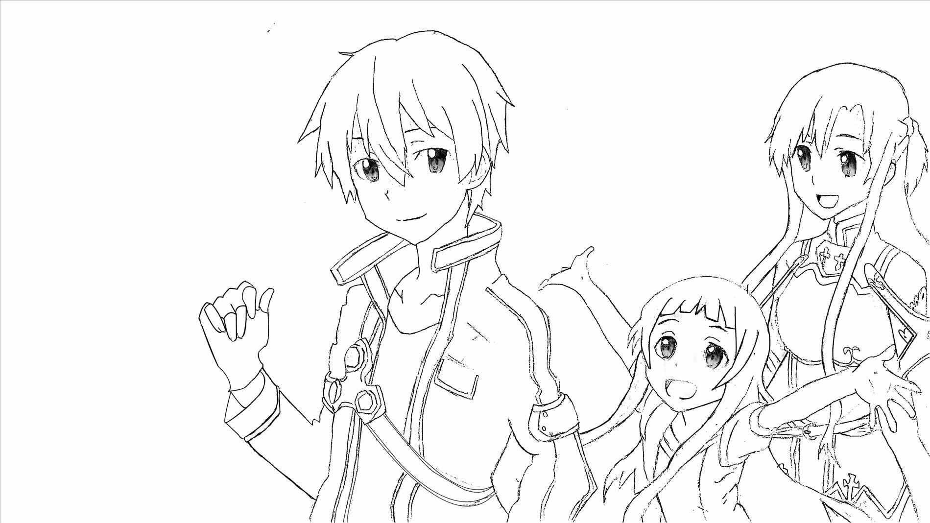 Pioneering Kirito And Asuna Coloring Pages Lavishly Is A Web That Contains With Sword Art Online Coloring Sword Art Online Online Coloring Pages Coloring Pages