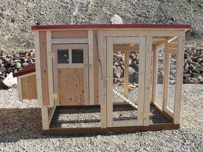 Chicken coop plan & material list, The Mini Cooper