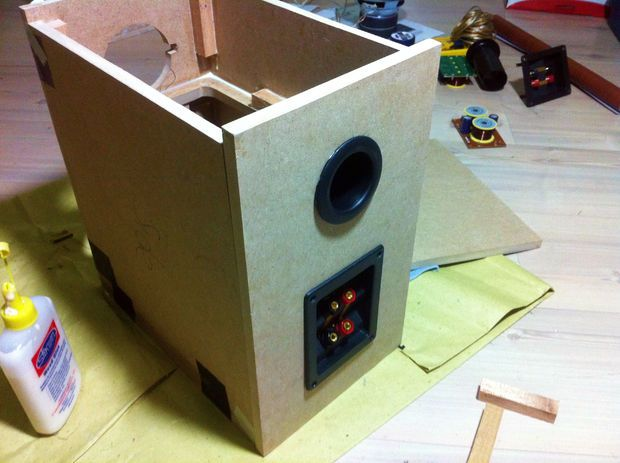 DIY HiFi Bookshelf Speakers