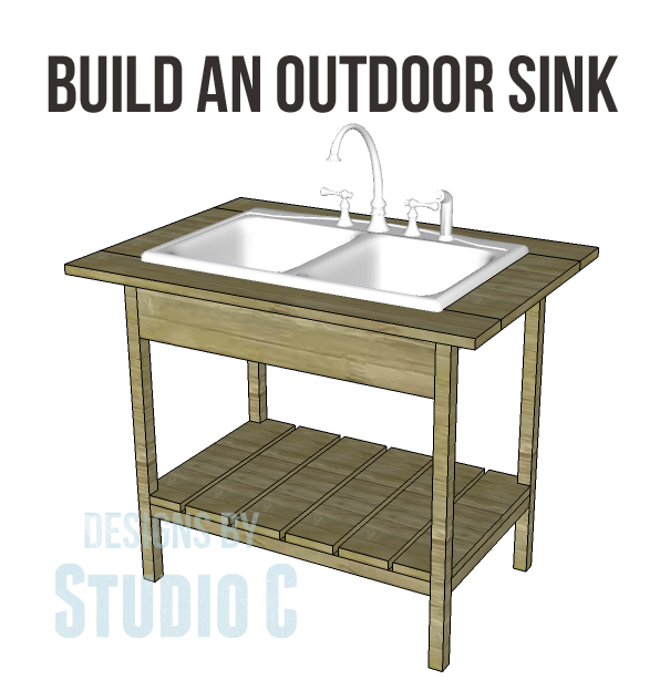 Construct a DIY Outdoor Sink Base Excellent for Quick and ...