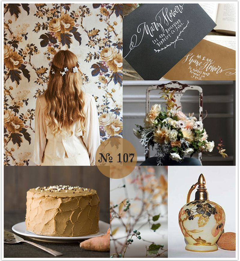 Midnight Blue Wedding Decorations: Mood Board #107: Molasses And Midnight Blue
