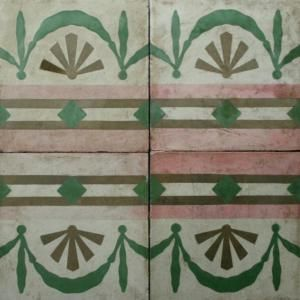 Reclaimed Encaustic Cement Tiles for Sale in the UK from Bert May ...