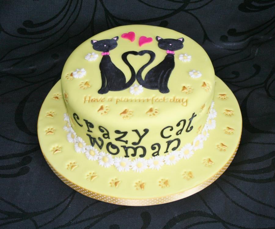 Crazy Cat Woman Cat cake, Crazy cats, Cake
