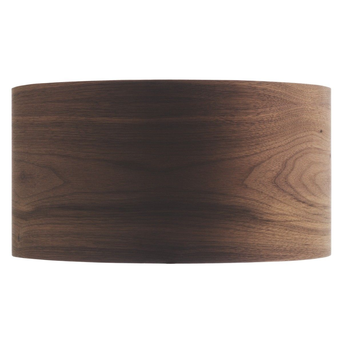 KAIN Walnut veneer drum lamp shade D35 x H18cm | Lamp ideas ...