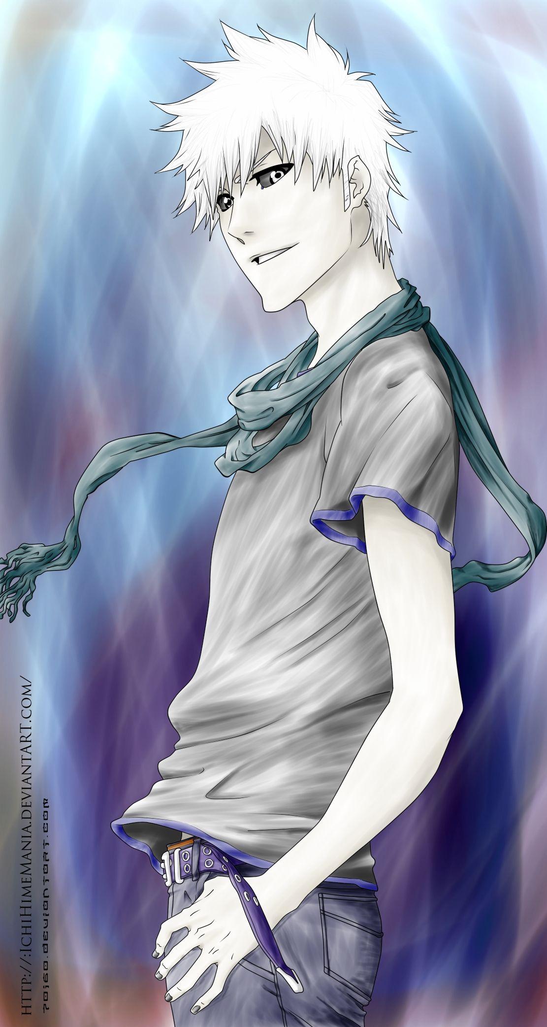 Hichigo Bleach Anime Bleach Characters Bleach Manga
