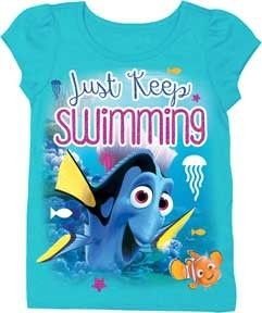 f9854c216d Sizes 2T 3T 4T 5T Pink Glitter Label Disney Pixar Finding Dory Officially  Licensed Disney Pixar Finding Dory Toddler Clothes #FindingDory