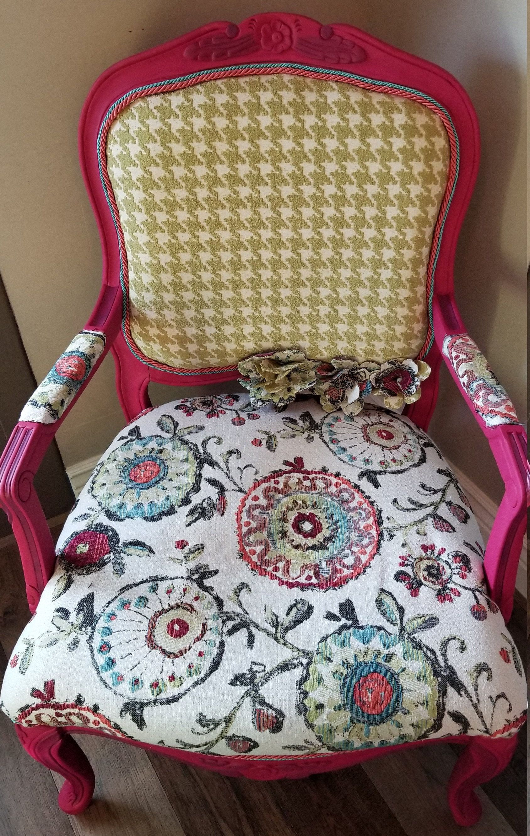 Sold Fun French Provincial Accent Chair Can Few Duplicated Or