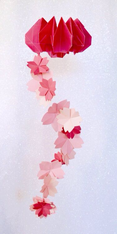 Origami Flower Mobile Origami Pinterest Flower Mobile And Origami