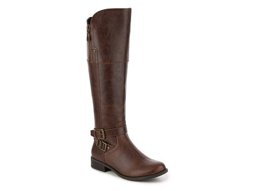 af6465493ed8 G by GUESS Heylow Wide Calf Riding Boot