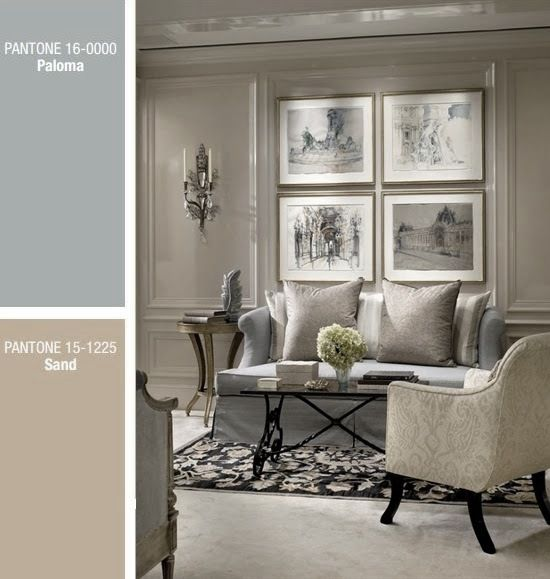 If your preference is a subdued, neutral palette, then go ahead and use this year's trendy Paloma Grey With Sand. Find more great tips on my blog page: http://www.versastyledesign.com/en/blog-en/blog