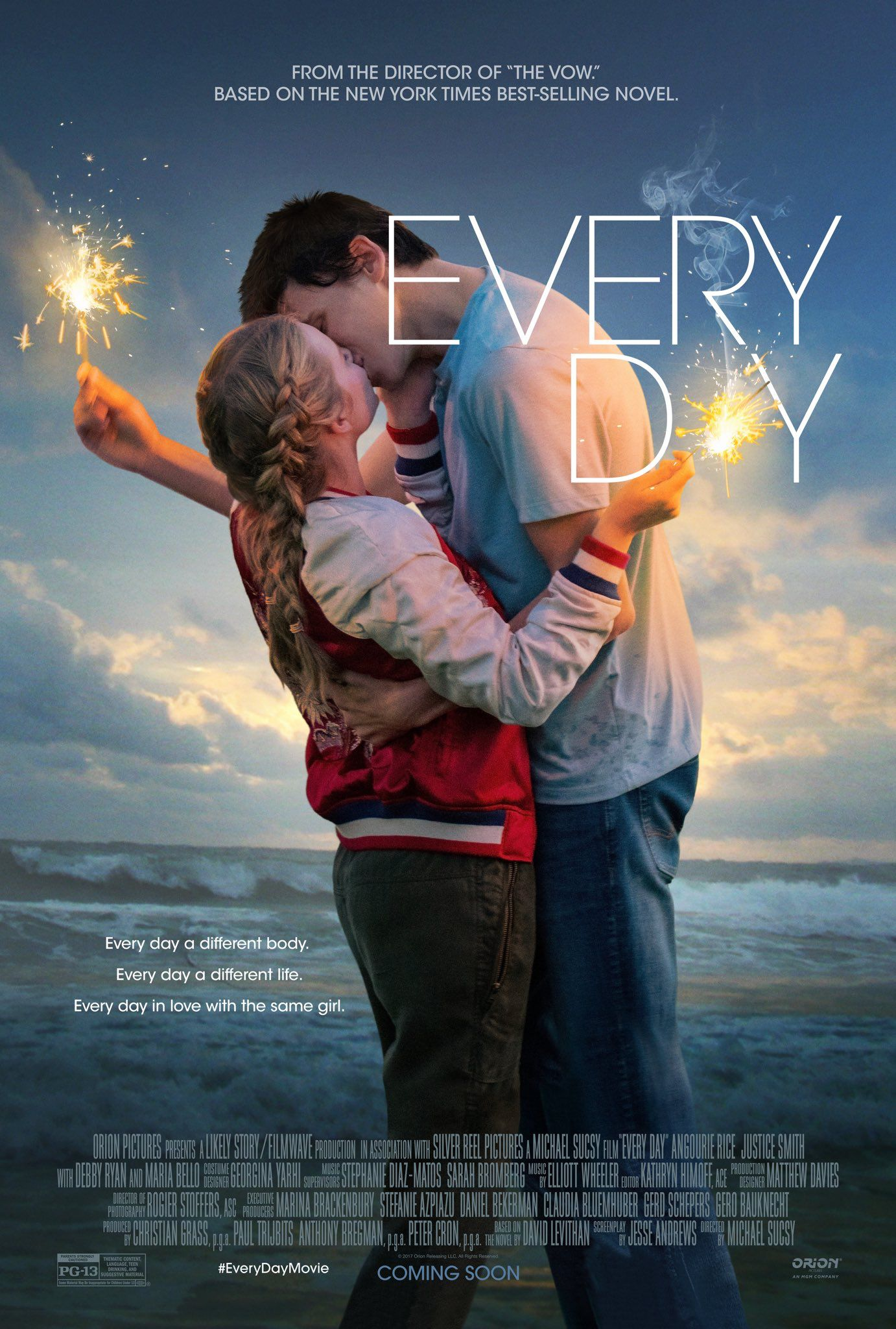 Love Is Love It S What S On The Inside That Counts Based On The Best Selling Novel Every Day Opens In Theaters Fe Livro Todo Dia Filmes Hd Filmes De Romance