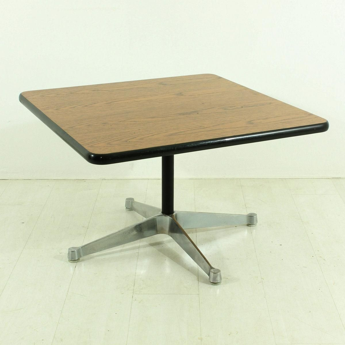 Vintage Four Star Base Coffee Table By Charles Ray Eames For