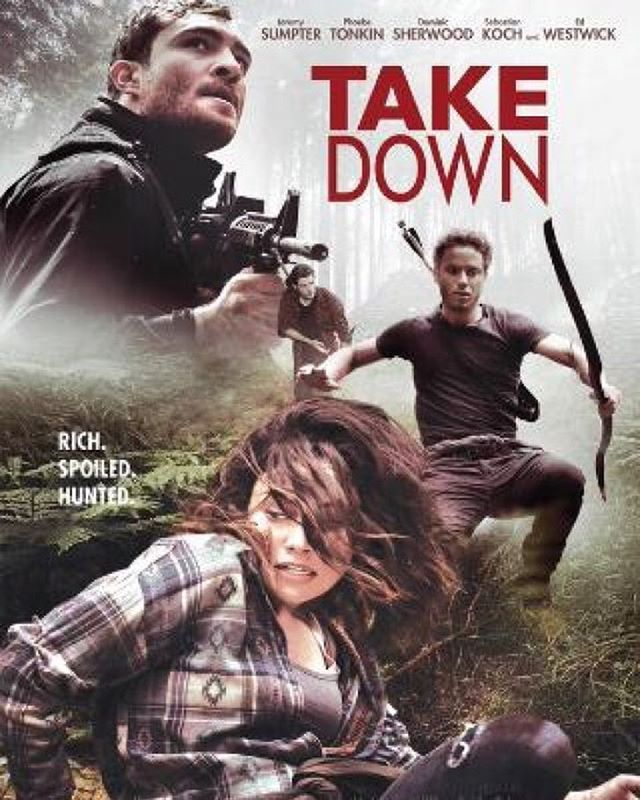 #DominicSherwoods new movie poster #takedown #shadowhunters