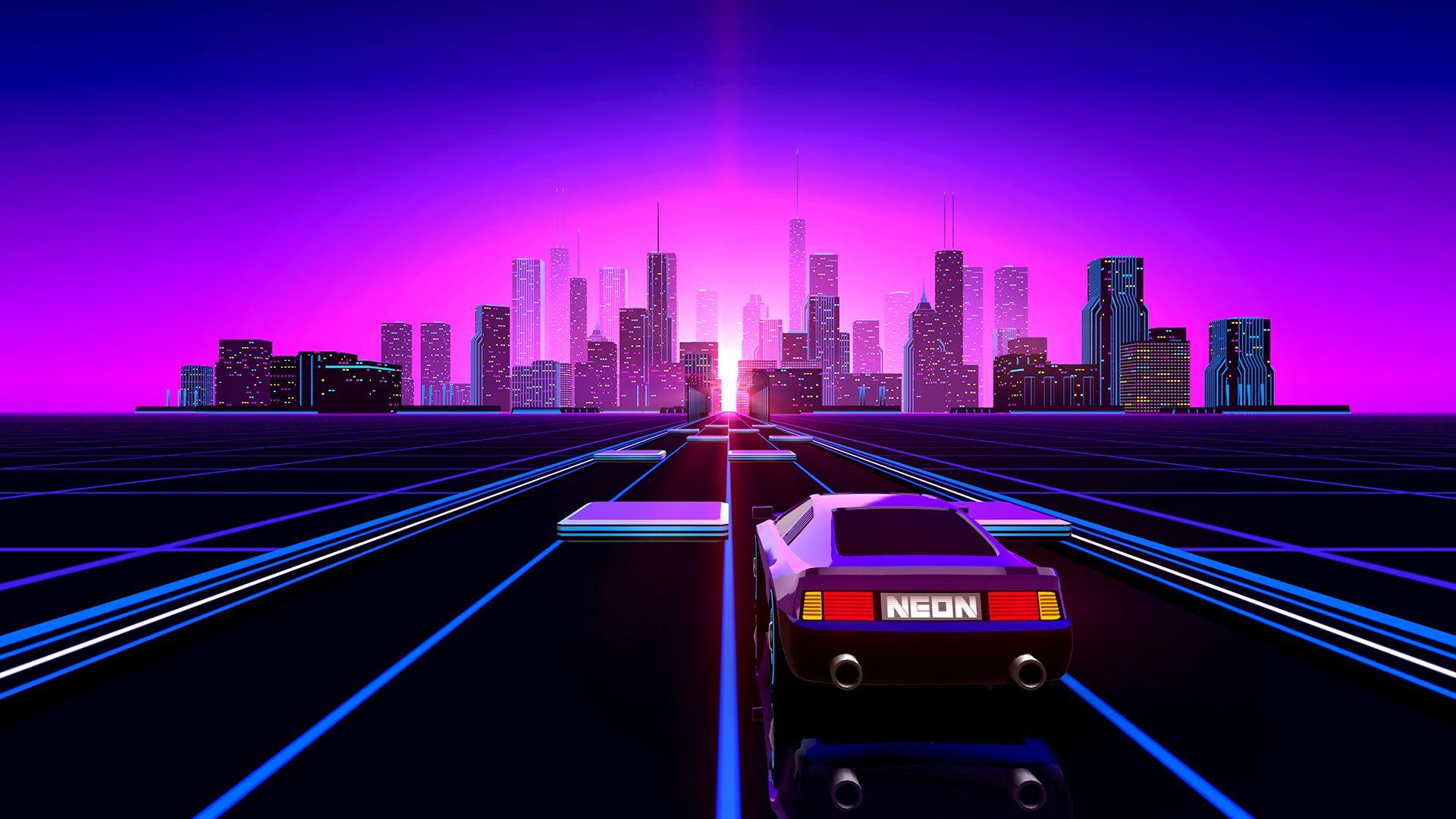 Neon Drive [1920x1080]