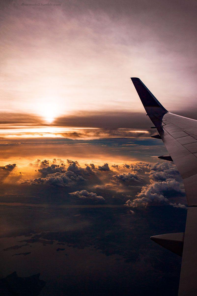 Dharmatv2 Let S Go Home 09 2016 Iad Bcn Airplane Wallpaper Sky Aesthetic Travel Aesthetic