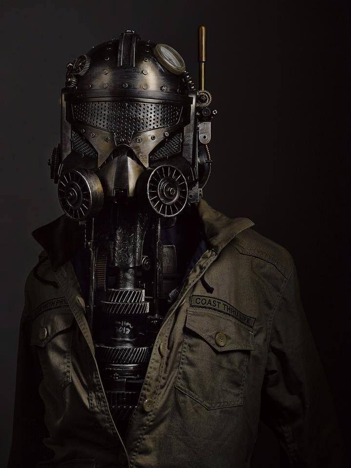 Steampunk Tendencies   STEAMTROOPER by our friend : Ram Mallari Jr. #Sculpture #Stormtrooper #Starwars #Steampunk