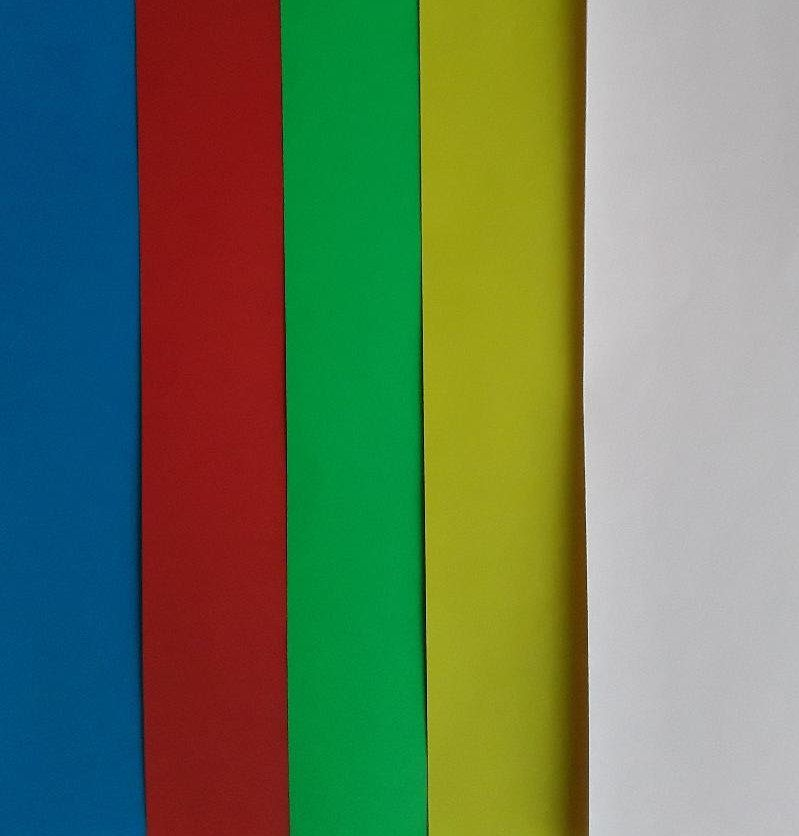 Coloured Paper Pack Of 10 Sheets Of A4 Red Green Blue Etsy Colored Paper Card Making Cardmaking