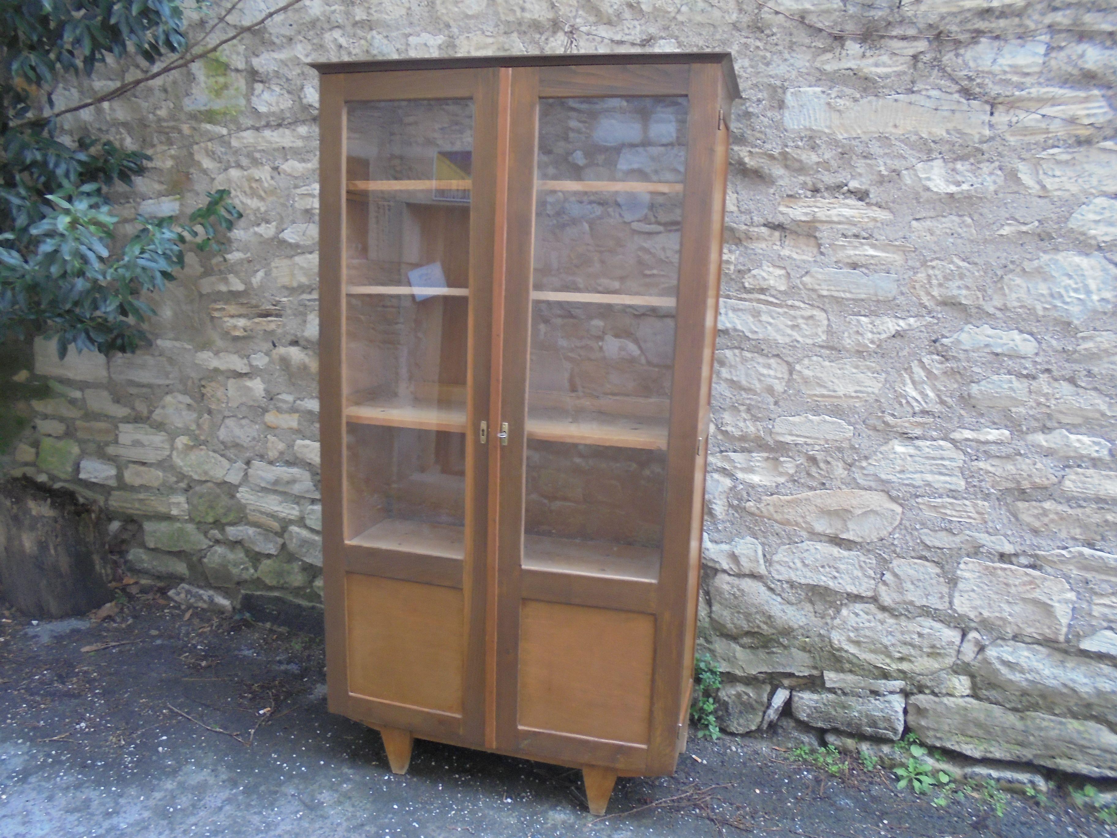 Bibliotheque Vitree En 2020 Mobilier De Salon Meuble Deco Deco