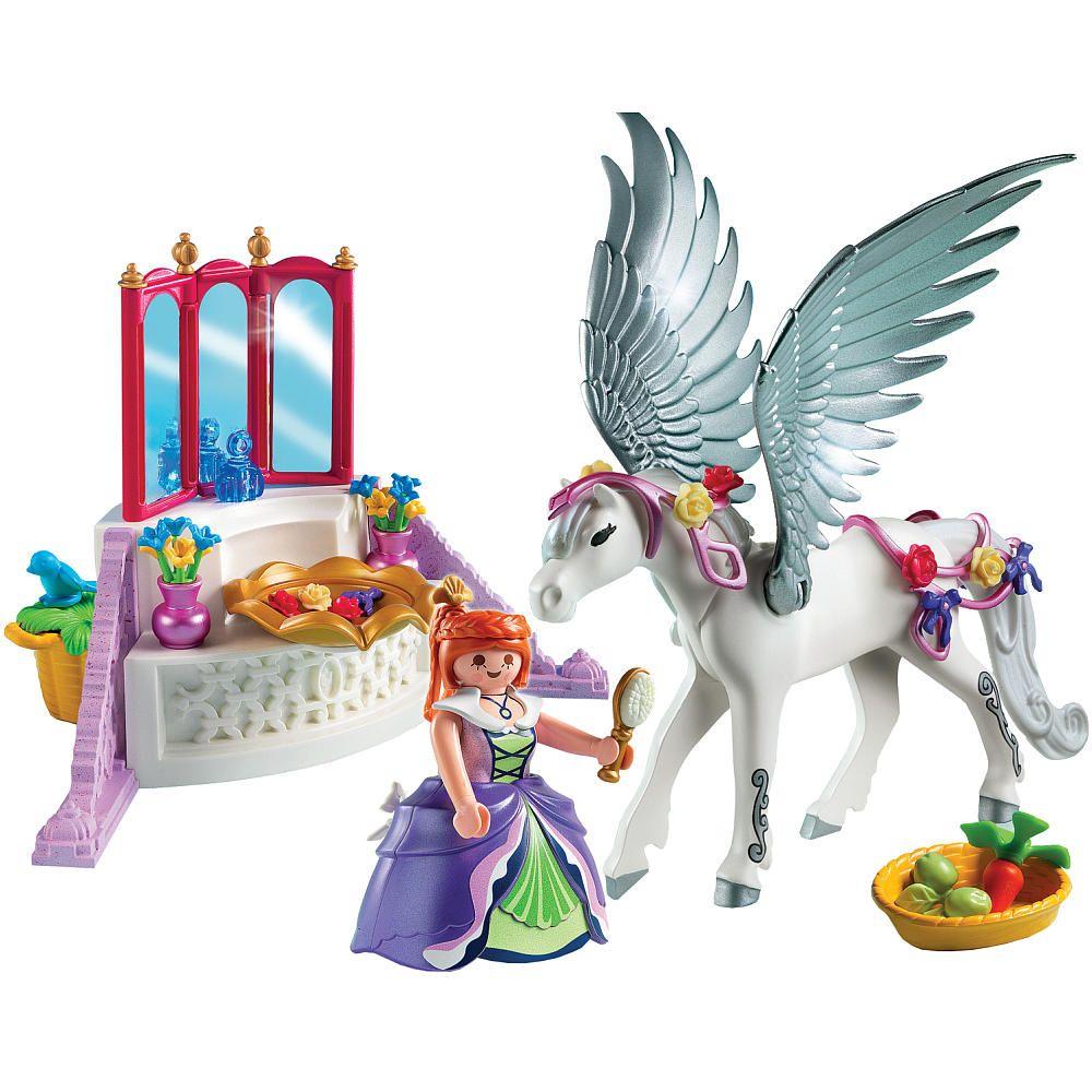 "Playmobil Pegasus with Princess and Vanity - Playmobil - Toys ""R"" Us"
