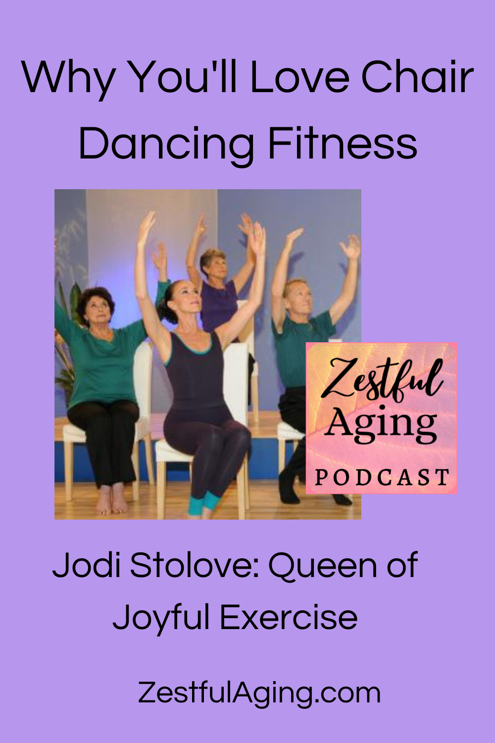 Chair Dancing Fitness Is Joyful Exercise In 2020 Exercise Fitness Podcasts