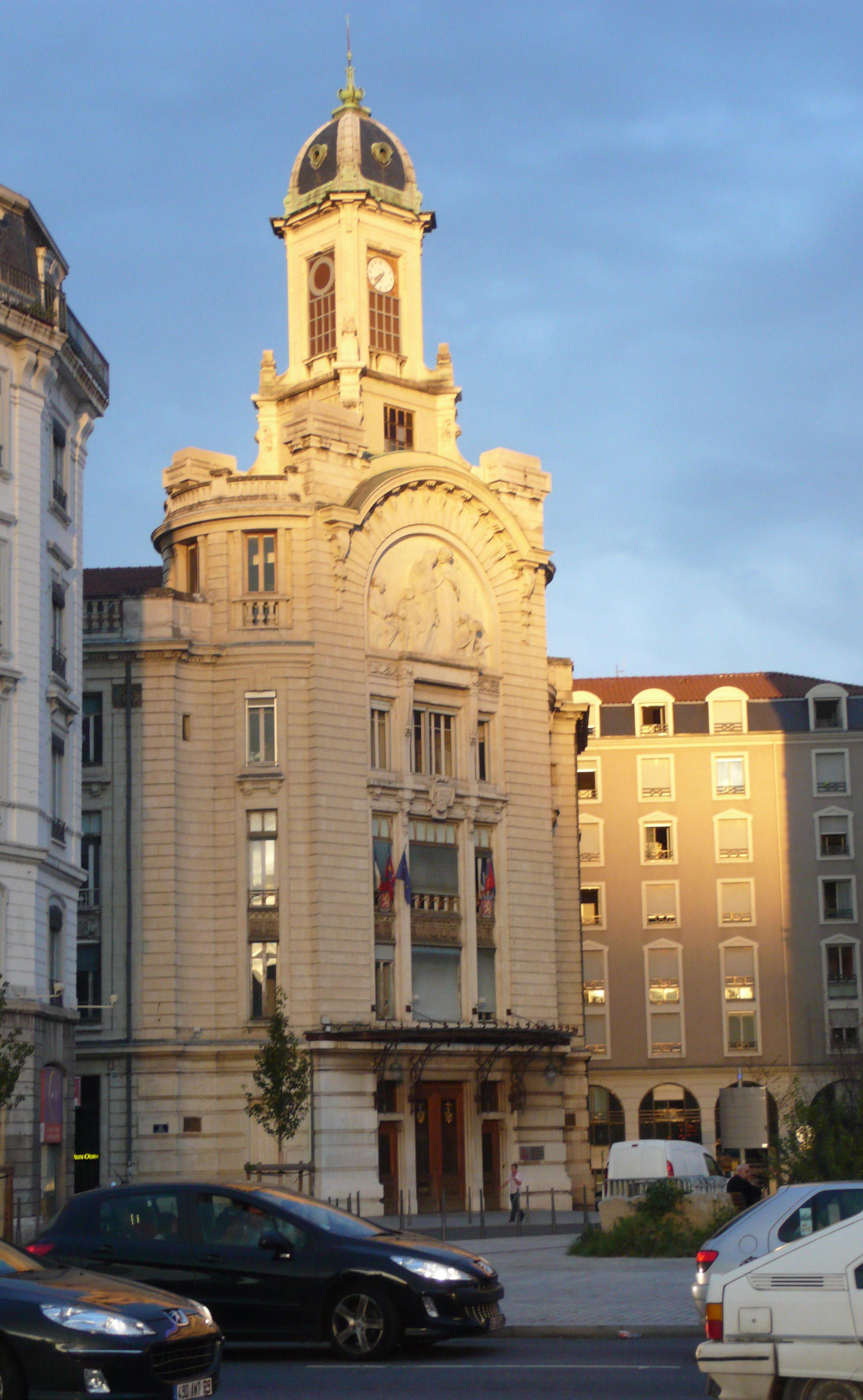 Lyon art nouveau. Palais de la Mutualité, Lyon 3, Fosse
