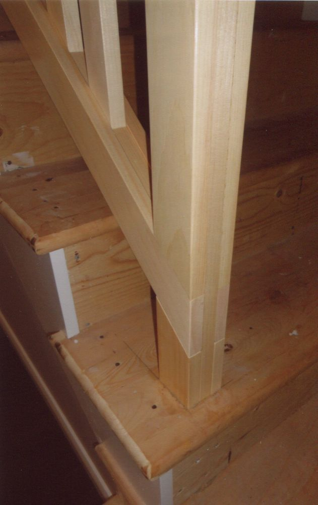 High Quality This Basement Stair Situation Required A Stair Rail That Can Be Removed, So  Big Items Can Be Carried Downstairs. The Top And Bottom Rails.